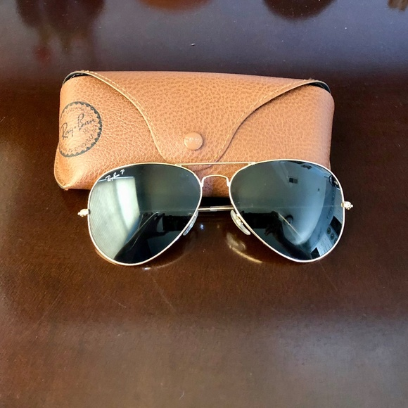 e78278e066  Ray-Ban  Polarized Classic Aviator Sunglasses. M 5b90be726197450d823b2648